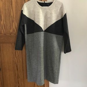 db4b4b0d9c9 Madewell Dresses - Madewell Colorblock Sweater Dress